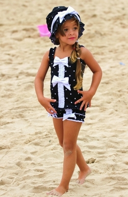 Adorable Girls Bathing Suits From Chichinella Bella Swimwear