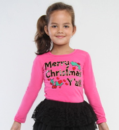 haven-girl-pink-merry-christmas-y-all-tee-preorder-2