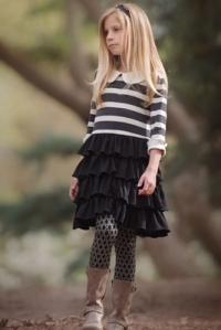 persnickety-autumn-splendor-black-striped-knit-macie-jane-dress-preorder-8