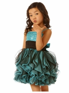 ooh-la-la-couture-stunning-aqua-black-shimmy-dress-preorder-2
