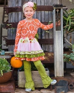 giggle-moon-harvest-fields-pink-and-orange-tutu-dress-legging-two-piece-set-preorder-4